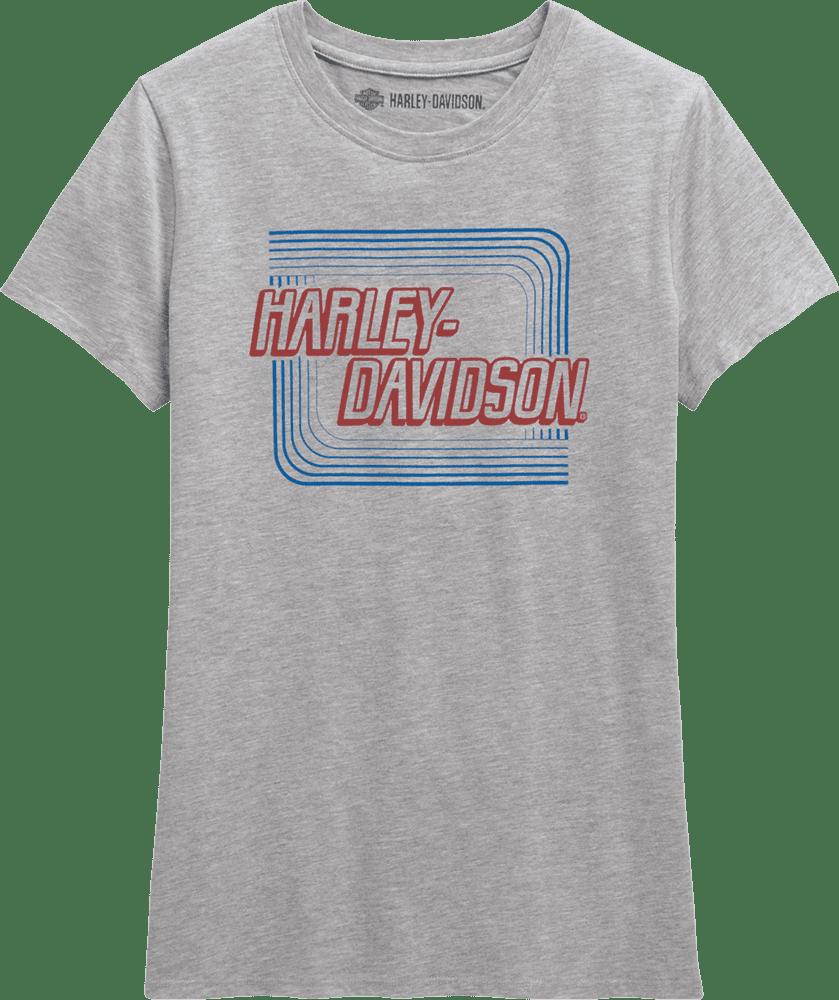 レトロアウトライン・Tシャツ