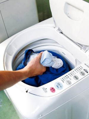 レインウエアは洗えるの?