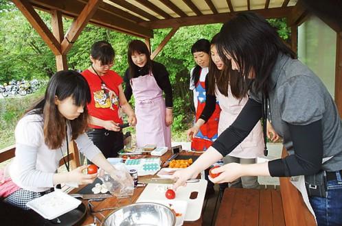 カレー作り1