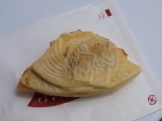 富士山を型どった鯛焼き