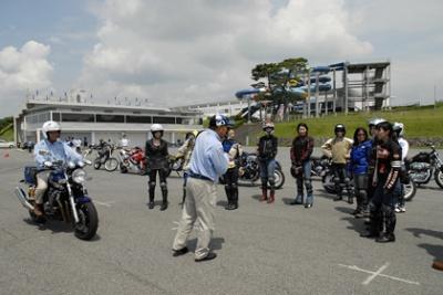 ヤマハライディングアカデミー レッスン&ツーリング:静岡
