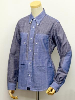 マックスフリッツより、ライディングに便利な機能が詰まったダンガリーシャツが登場