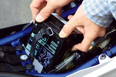 バイクの基本点検がしてみたい バッテリー編