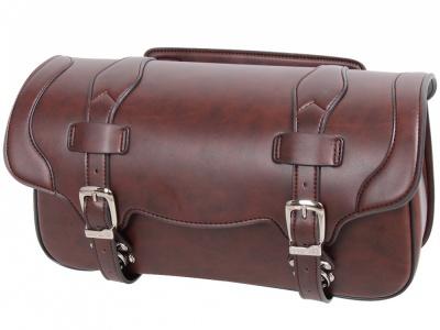 デグナーより、シンセティックレザーを採用したマフラー側対応のサドルバッグが登場