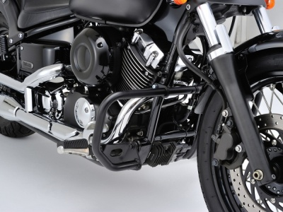 デイトナより、DRAGSTAR400/CLASSICとREBEL250/500に適合するパイプエンジンガードが登場
