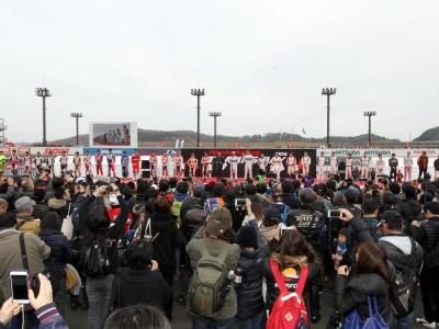 Honda Racing THANKS DAY 2017が、12月3日にツインリンクもてぎで開催