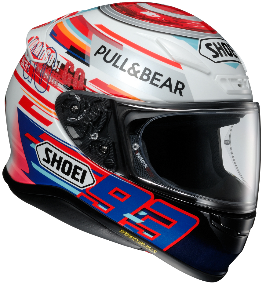 Casque Shoei 2018 >> SHOEIより、フルフェイスヘルメット・Z-7にカタルニアGP仕様のマルケスレプリカモデルが登場   トピックス   レディスバイク公式サイト