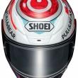 SHOEIより、フルフェイスヘルメット・Z-7にカタルニアGP仕様のマルケスレプリカモデルが登場
