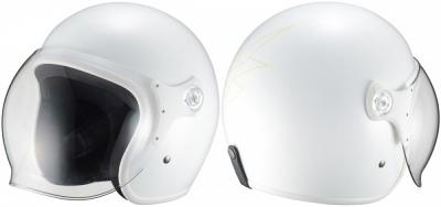 RIDEZから、コンパクトな帽体のシールド付きジェットヘルメット・THUNDER HEADZが登場