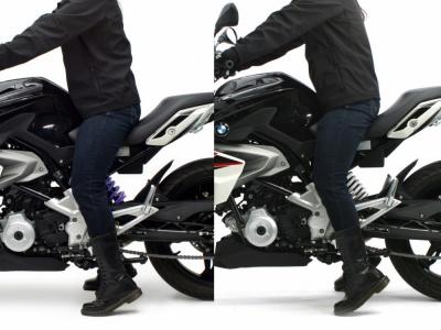 HYPERPROより、G310R用のローダウンスプリングが登場!純正比で約20mmのローダウン効果が見込めます