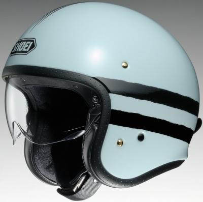 SHOEIのインナーバイザー付きジェットヘルメットであるJ・Oに、新グラフィック・SEQUELが登場