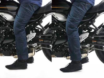 EFFEXより、Z900RS(18年)用のローダウンキットが登場です!純正比で-20mmのローダウン効果