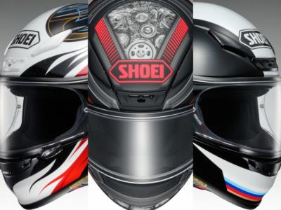 SHOEIのフルフェイスヘルメット・Z-7にニューグラフィック3パターンが新登場