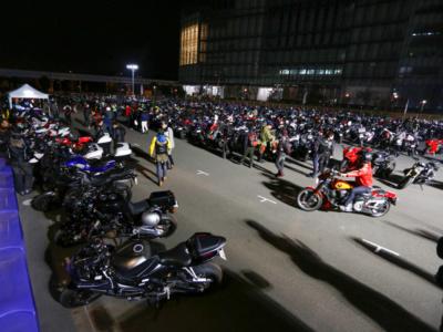 第2回 BMW Night Rider Meeting レポート♪ひな祭りの日、600人近いライダーが夜のお台場に集結