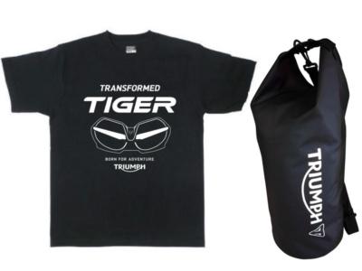 試乗でオリジナルTシャツをゲット!トライアンフ New タイガーデビューフェアーが3月10日からスタート