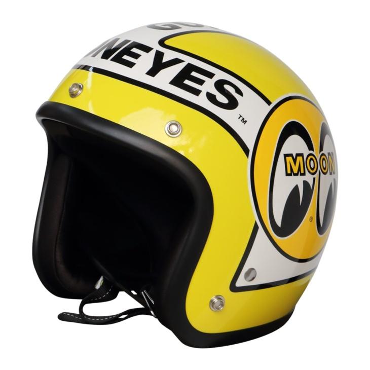 オリオンエースからmooneyesヘルメットにsサイズが登場 バイク