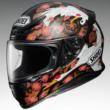 SHOEIから鶴と牡丹のグラフィックが印象的なフルフェイスヘルメット・Z-7 TRANSCENDが登場!