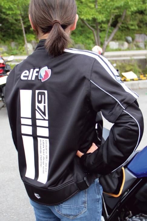フルメッシュなジャケットは半袖にもなるんです!