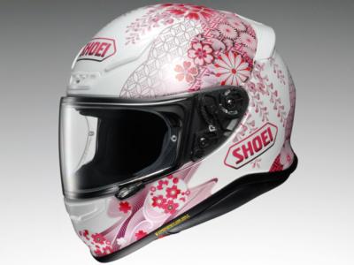 花柄がポイント♪ SHOEIのフルフェイスヘルメット・Z-7に新グラフィックのHARMONICが登場