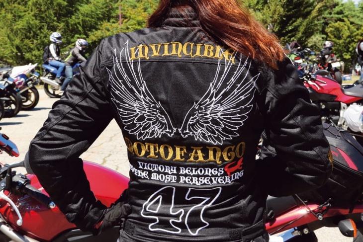 ジャケットを脱いだらライダーに見えないファッションがこだわりです