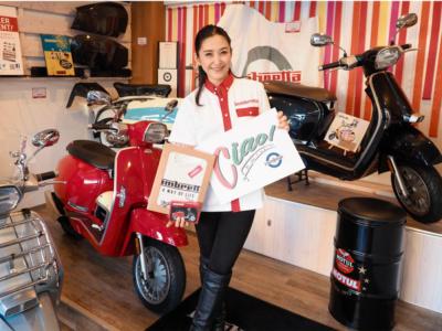 多聞恵美さんがパーソナリティを務める『Ciao!Lambretta×ママライダー座談会』の公開収録を2月16日に開催♪