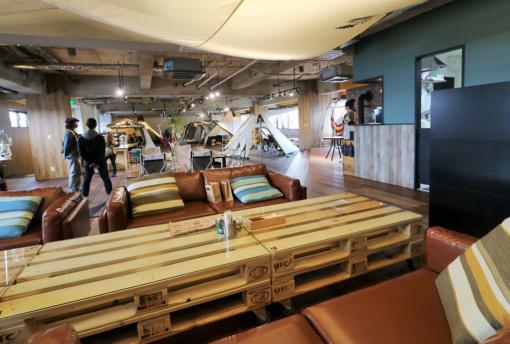 ogawa GRAND lodge CAFEオープン