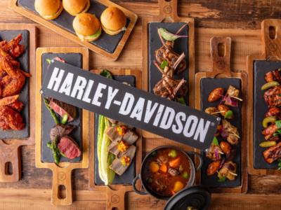 お肉尽くし♪ ハーレーダビッドソン×ヒルトン東京お台場コラボメニューが、2019年5月末までの期間限定で登場