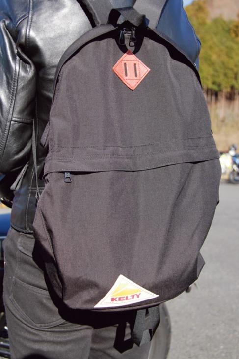 ケルティのバックパックはシンプルで使いやすい! ツーリングの相棒