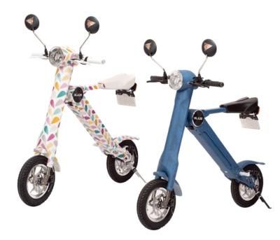 """原付免許で乗れちゃう折り畳み電動バイク""""BLAZE SMART EV""""にAmazon限定カラーが登場♪"""