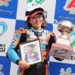 中山愛理選手が全日本ロードレース選手権 J‐GP3クラスで2位を獲得!!