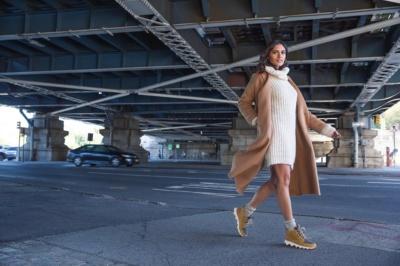 """ソレルから、ファッション性と機能性を両立した厚底スニーカーブーツ""""KINETIC™ CARIBOU""""が登場♪"""