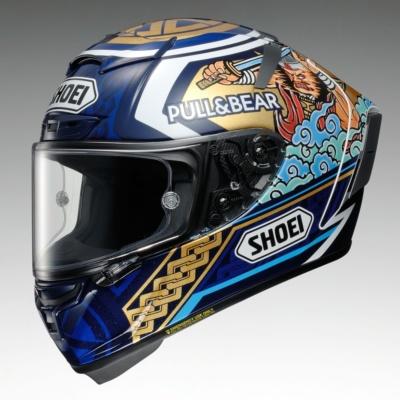 和テイストのクールなデザイン♪ SHOEIより、MotoGPで活躍するマルク・マルケス選手の新作レプリカが登場!