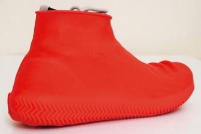 """シリコン製のシューズカバー""""Waterproof Shoes Cover""""って選択もありかも♪"""
