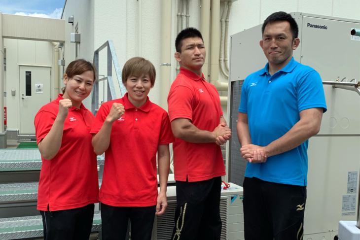 浜崎朱加さんが勤めているリハビリセンターのスタッフたち