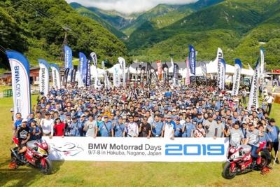 """快晴の元、充実のコンテンツで楽しむ!""""BMWMOTORRADDAYSJAPAN2019""""開催レポート"""