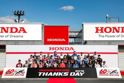 ホンダのトップライダー・ドライバーが集結!! Honda Racing THANKS DAY 2019開催レポート