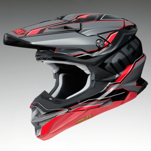 SHOEI VFX-WR ALLEGIANT TC-1(レッド×ブラック)