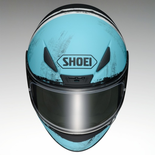 SHOEI Z-7 SHOREBREAK(トップビュー)