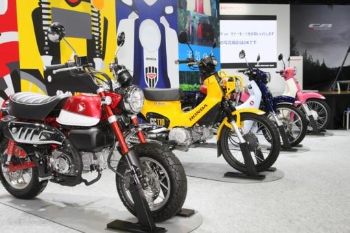 HONDAバーチャルモーターサイクルショーで展示された新型モデル