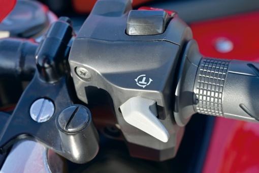 HONDA CBR650R 右ハンドルのコントロールボックス