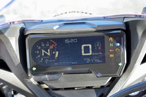 HONDA CBR650R デジタルメーター
