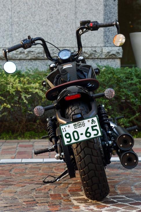 INDIAN MOTORCYCLE SCOUT BOBBER TWENTY リヤビュー