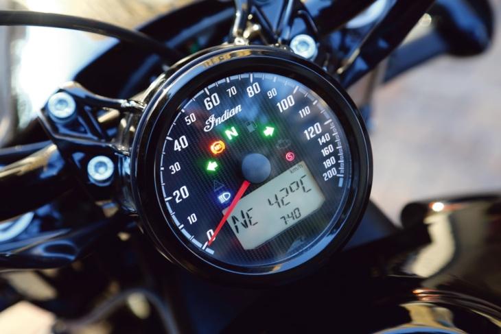 INDIAN MOTORCYCLE SCOUT BOBBER TWENTY メーター