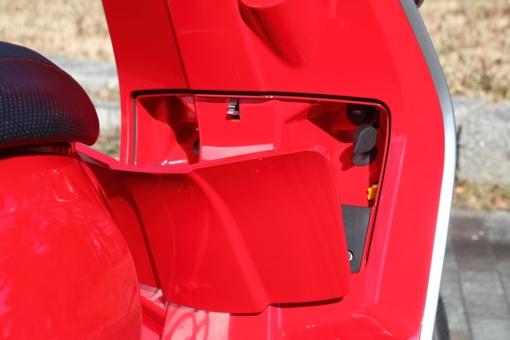 LAMBRETTA V125 SPECIAL フロントボックス