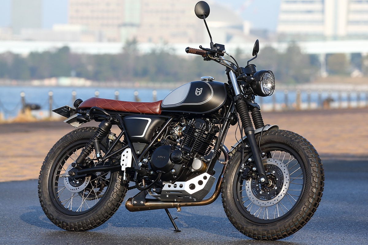 MUTT MOTORCYCLES MASTIFF250 右サイドビュー