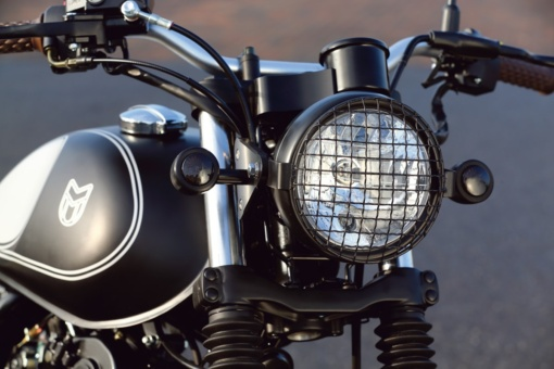 MUTT MOTORCYCLES MASTIFF250 ヘッドライト