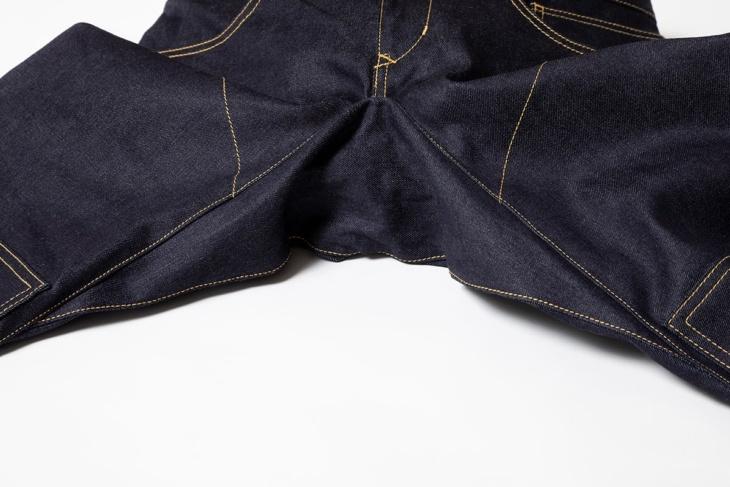 シンイチロウアラカワ P09R /断熱 股部分の立体縫製