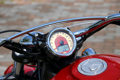 INDIAN MOTORCYCLE Scout 100th Anniversary Edition スピードメーター