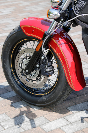 INDIAN MOTORCYCLE Scout 100th Anniversary Edition フロントブレーキ