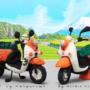 ヤマハ発動機 あみぐるみ・ 羊毛フェルト 電動バイク「E-Vino」